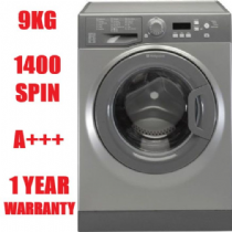 HOTPOINT WMBF944G Graphite 9KG washing Machine 1400rpm